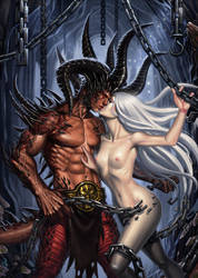 Eros and Thanatos by SaraForlenza