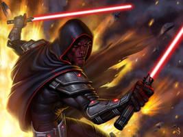 Sith Warrior by SaraForlenza