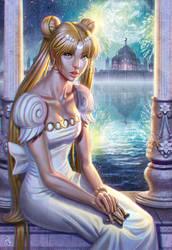 Princess Serenity by SaraForlenza