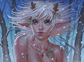 White Faun by SaraForlenza