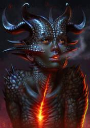 Hot Girl by SaraForlenza