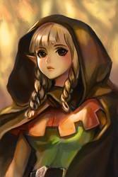 Dragon's Crown - Elf  fan art by chaosringen