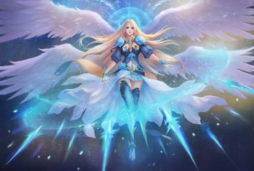 The Ice Goddess by chaosringen