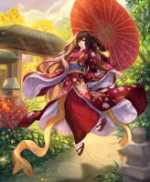Akiko by chaosringen