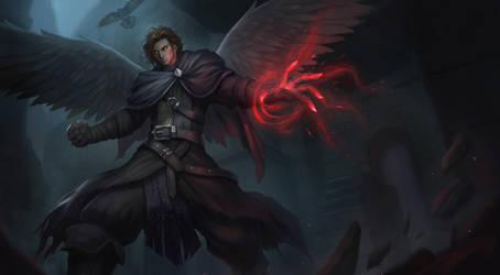 Aaron Corvus by chaosringen