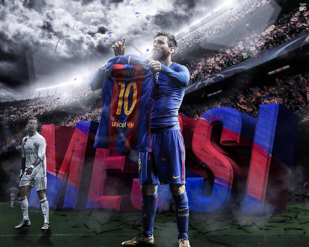 Leo Messi Desktop Wallpaper HD By Ropn1996 On DeviantArt
