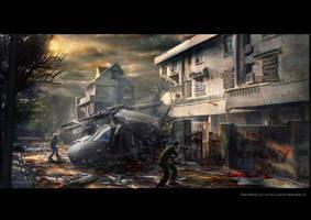 Zombie Apocalypse #2 by fabiovenetz