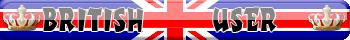 British User Signature Banner by DottGonzo