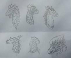 P-PAU Sketches by ArtisticDragon1212