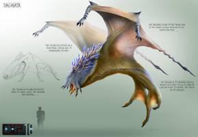 Dachiata Creature Concept Sheet by franeres