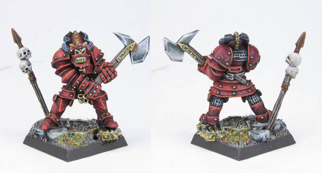 Realm of Chaos Khorne Chaos Warrior by PrincipeFenice