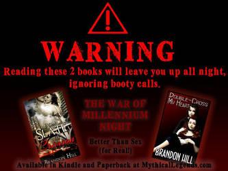 War of Millennium Night Ad by BrandonHill