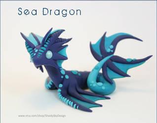 Polymer Clay Sea Dragon by ShaidySkyDesign