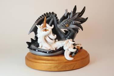 Dragon Unicorn Couple by ShaidySkyDesign