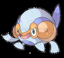 Aero Frog Pokemon by harikenn
