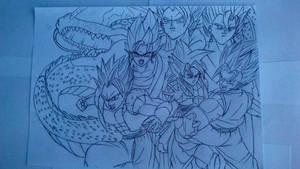 Dragon Ball Z by DRAWMOD