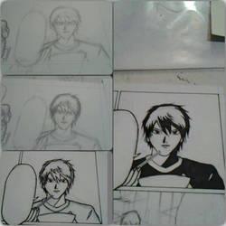 my manga Fallen from Grace by DRAWMOD