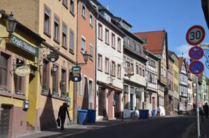 A street in Aschaffenburg by Irondoors
