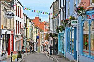 Falmouth High Street by Irondoors