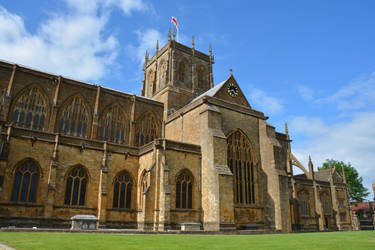 Sherborne Abbey exterior by Irondoors