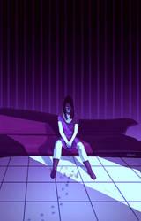 Silence is Purple by InciAlper