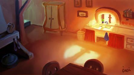 kitchen by InciAlper