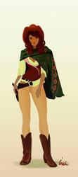 Cowgirl by InciAlper