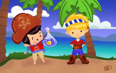 Little Pirates by InciAlper