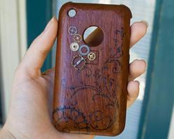 Steampunk iPhone Case by CrystalKittyCat