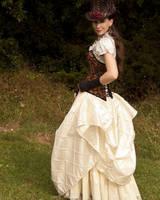 Bustled Skirt by CrystalKittyCat