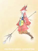 Freya [Fan art] by TenshinKun