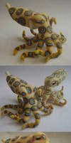Vibrant Octopus by FamiliarOddlings