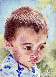 Portrait of Andrew by FamiliarOddlings