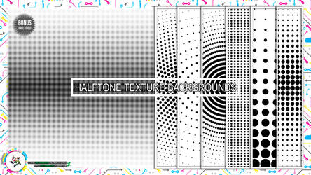 Halftone Texture Backgrounds By Spectrum Makers by SpectrumMakers