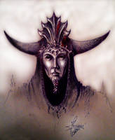 The Necromancer by Skullbastard