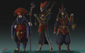 Priests of Sauron by Skullbastard