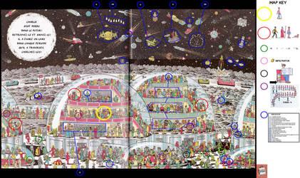 Where's Waldo Now ? (Book 2 - Scene 12) by Where-is-Waldo-Wally