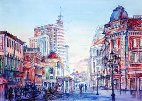 Bauman street by Andette