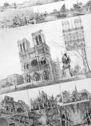Notre Dame de Paris by Andette