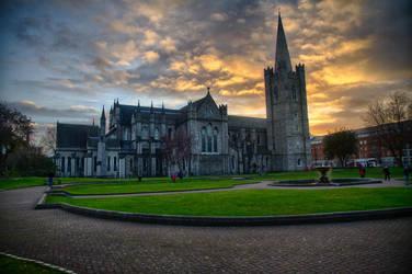 Saint Patricks Cathedral, Dublin by CK85
