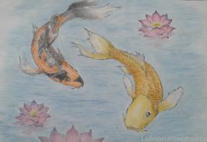 Koi Fish by LelnariaSabhyata
