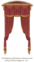 1815 French Curtain - Wine by EveyD