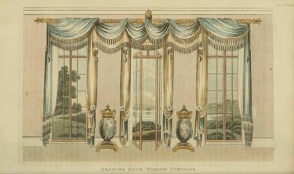 1820 Regency Curtain - Original by EveyD