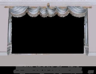 1820 Regency Curtain Room - EKD 2 by EveyD