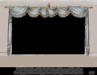 1820 Regency Curtain Room - EKD 3 by EveyD