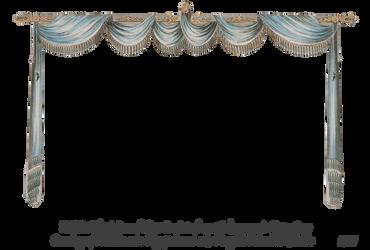 1820 Regency Curtain Room - EKD 3 curtain only by EveyD
