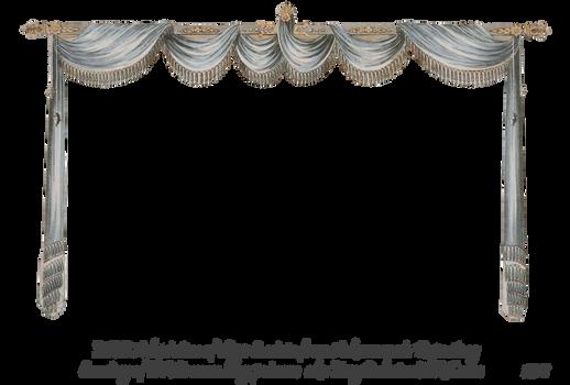 1820 Regency Curtain Room - EKD 4 curtain only by EveyD