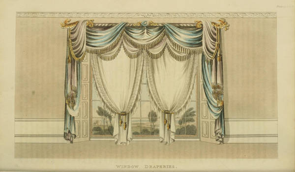 1820 Regency Curtain-Ackermann Repository Original by EveyD
