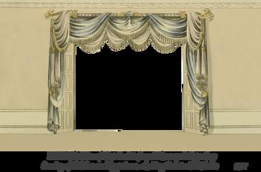 1820 EKD Regency Curtain Room 2 by EveyD