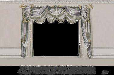 1820 EKD Regency Curtain Room 4 by EveyD